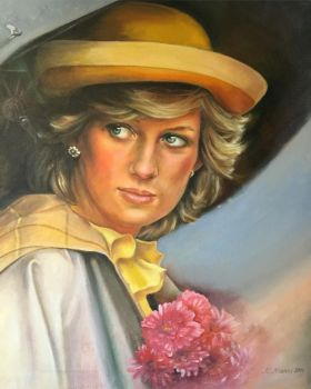 Diana (The princess of Wales) by marynamanni