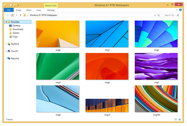 Windows 8.1 RTM Wallpapers by Misaki2009