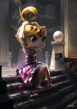 Princess Zelda - Wind Waker by yoshiyaki