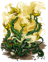 Elder Yellow Musk Creeper by ProdigyDuck