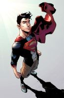 Superboy by jadecks