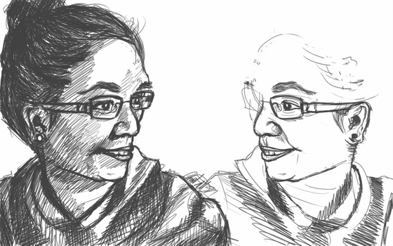 Day 7 - Portrait Practice by bookwormy606