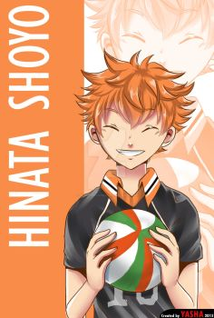 Sport Fanart Collection 1 - Hinata Shoyo(Haikyu!) by worldofyasha