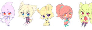 Smol Adopts yet again by AdoptSonicCharacter