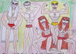 The Kings and Princes of the Jungle by AntoniMatteoGarcia
