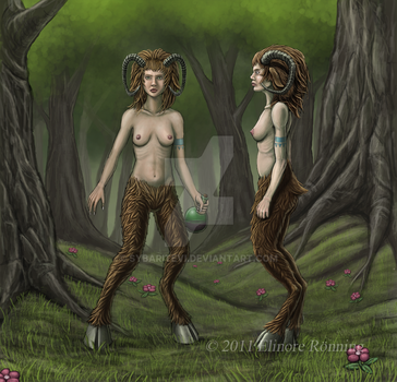 3-Satyr-front-profile by SybariteVI