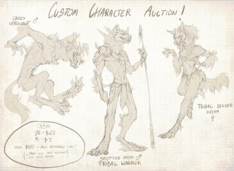 Custom Character Auction! [CLOSED] by Spectrosz