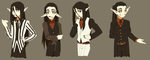 Some Dantes by Pyro-Zombie