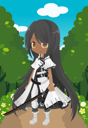 Me as a SAO Player by catkittycool321