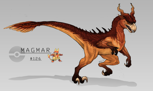 #126 Magmar by Jakiron
