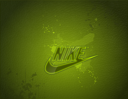 Nike Grunge Green by bmgreatness