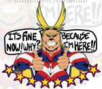 All Might is here!! by raya