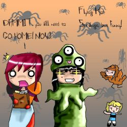 Flying Koi Halloween Contest by rad-robot