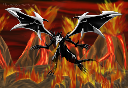 Wrath of the flames by DeathGrimmjow