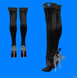 Wearable Dragon Heel Boots With XPS only by FEMDOMANIA