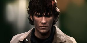 Young Sam Winchester by Weilard