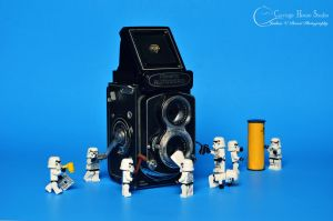 Lego Stormtroopers - Camera Maintenance by Jbressi