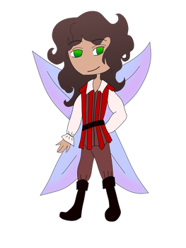 Fairy for Silly-Little-Dracaga by RoseandherThorns