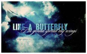 Like A butterfly by Piccadillyxo