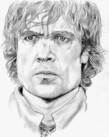 Tyrion Lannister (Peter Dinklage) by SaitoGaika