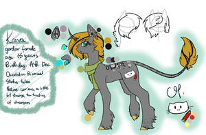 Keira's ref (old) by Rockielel