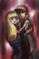 grown-up Dipper and Pacifica by Night-Maze