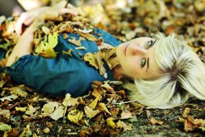 gold in the air of autumn by antonina-w-ogrodzie