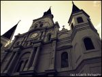 Saint Louis Cathedral by LilSaraBeth