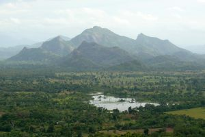 View from Sigiriya by AliusS