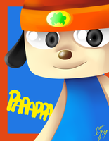 Parappa?? by Splattered-Wolf