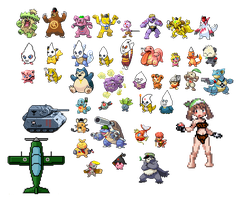 Pokemon Political Sprite Collection 1