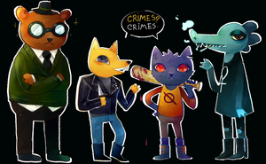 NITW squad by Oursolemnsoul