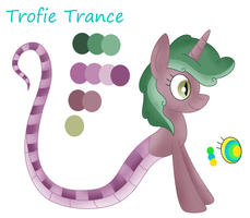 Ref: Trofie Trance The Lamia Pony by Fritfeng