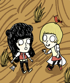 Don't Starve Together by CinderHasFallen