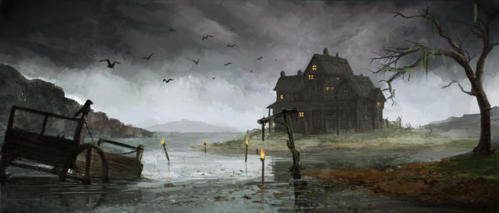 Swamp House by Jake-Labz
