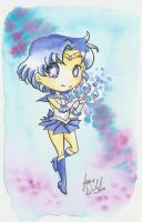 :: Chibi Sailor Mercury :: by AnimeJanice