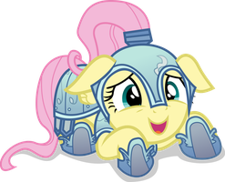 Fluttershy -We have to J...Joust? by CaNoN-lb