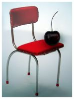 The Chair and The Cherry by autumn-rain