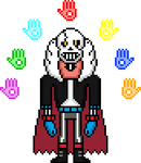 Gaster!Comic Papyrus by flambeworm370