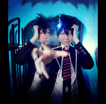 Ao no Exorcist: Demon in Me by XiaoBai