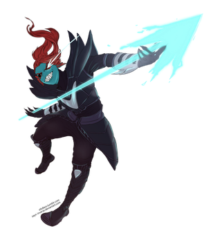 Undyne the Undying by v0idless