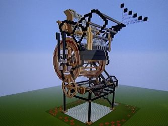Minecraft - Marble Machine X 3 by Erik-the-Okapi