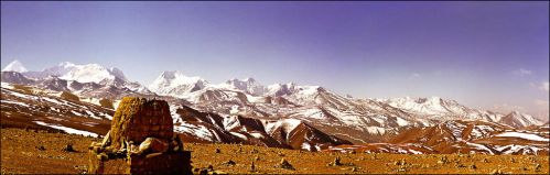 Spring snow on Himalayas by jup3nep