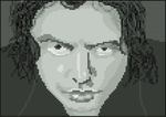 Tommy Wiseau (The Room cover) Pixel Art by Mr-Hide-fr