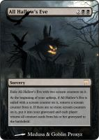 All Hallow's Eve by ipaintonthings