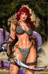 Red Sonja by DKHindelang
