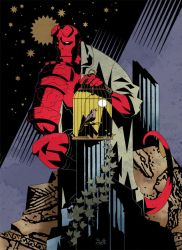 HELLBOY color final by LadyBrot