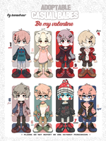 Adopt: Casual Babes Batch Valentines [CLOSED] by amepan