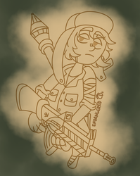 Blits the Soldier by EndangeredCDs