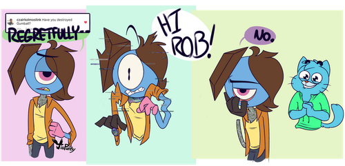 Rob Answers 2 by TiaPunky
